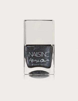 Nails INC Alice and Olivia Black Diamond