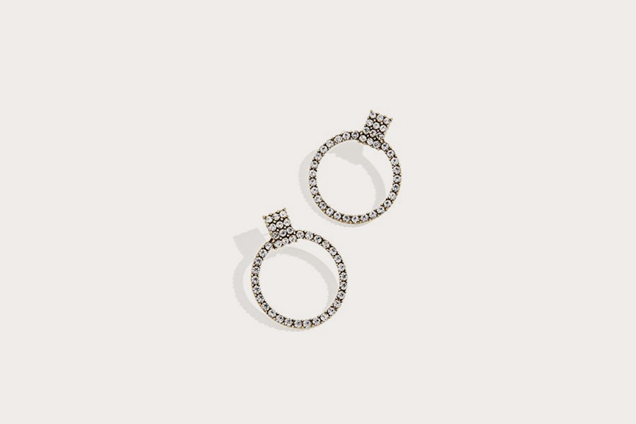 Gemma Hoop Earrings from Baublebar
