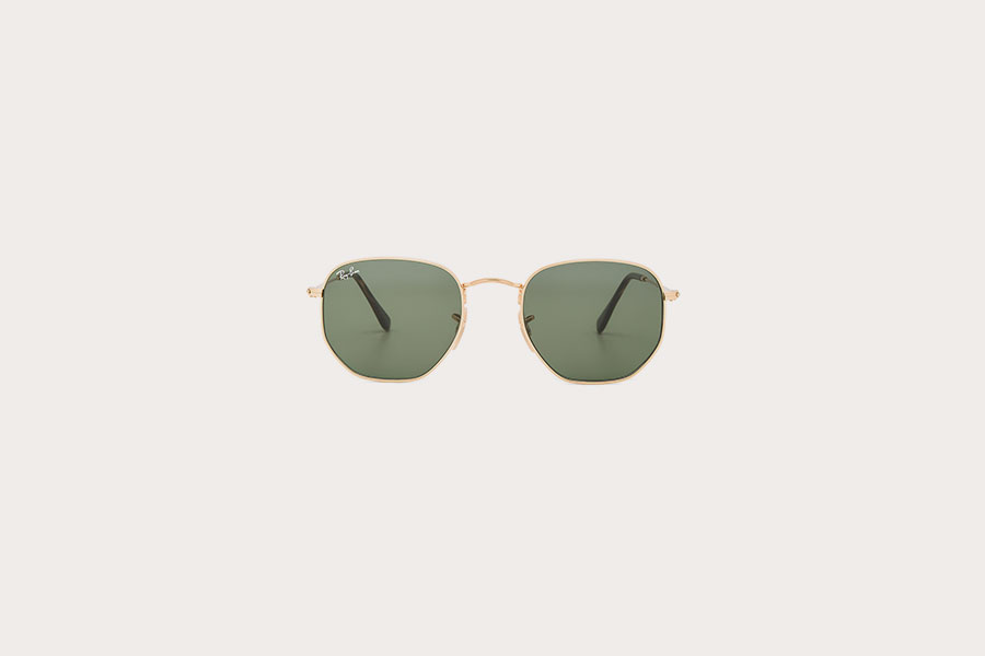 Hexagonal Ray-Ban Sunglasses