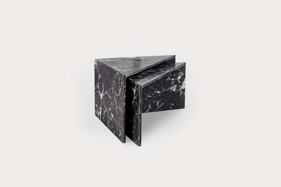 Nesting Marble Side Tables