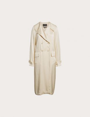 Satin Trenchcoat