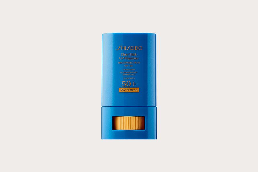Sheseido Clear Stick UV Protector WetForce SPF50+