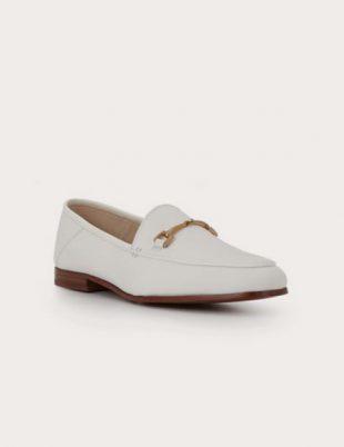 Loraine Bit Loafer in white from Sam Edelman